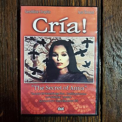 CRÍA! The Secret Of Anna - DVD