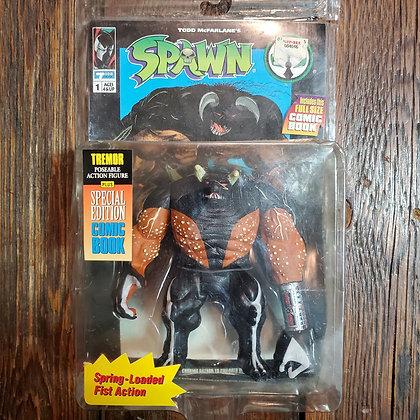 SPAWN 1994 Tremor - In Box Figure + Comic