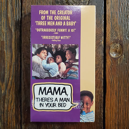 MAMA, THERE'S A MAN IN YOUR BED - Still Sealed VHS