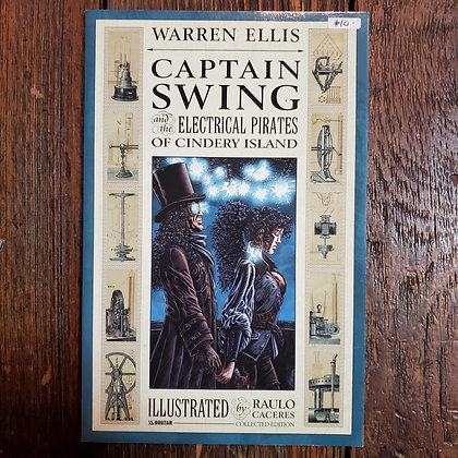 CAPTAIN SWING - Graphic Novel / Warren Ellis