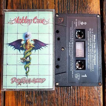 MOTLEY CRUE : DR FEELGOOD - Cassette Tape