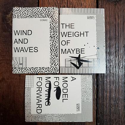 3 Zines by William Dereume