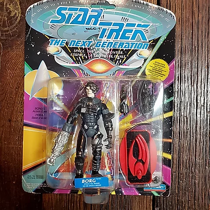 BORG 1992 Star Trek Action Figure (Still sealed!)
