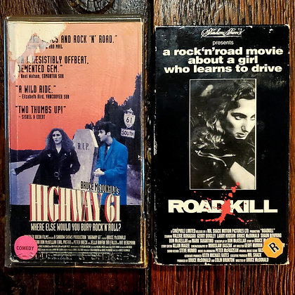 HIGHWAY 61 + ROADKILL - VHS (2 Pack Deal)