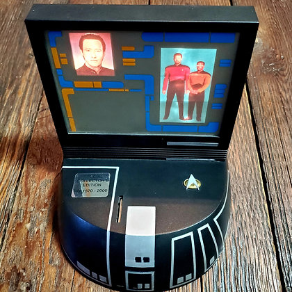 Rare STAR TREK TNG 1994 Electronic Bank (Only 2000 ever made!)