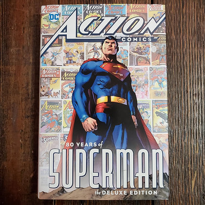 ACTION COMICS : 80 Years Of SUPERMAN The Deluxe Edition Hardcover