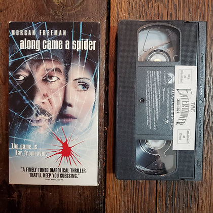 ALONG CAME A SPIDER - VHS