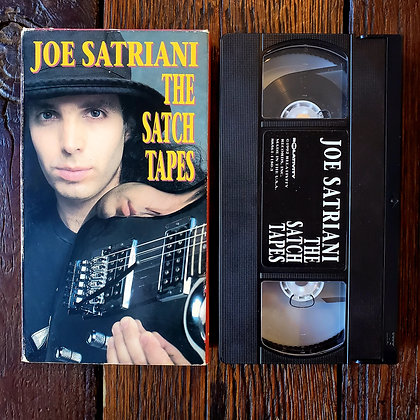 JOE SATRIANI : The Satch Tapes - VHS