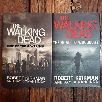 2 Walking Dead Hardcovers - Kirkman & Bonansinga