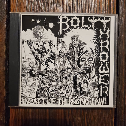 BOLT THROWER : In Battle There Is No Law! - Rare CD