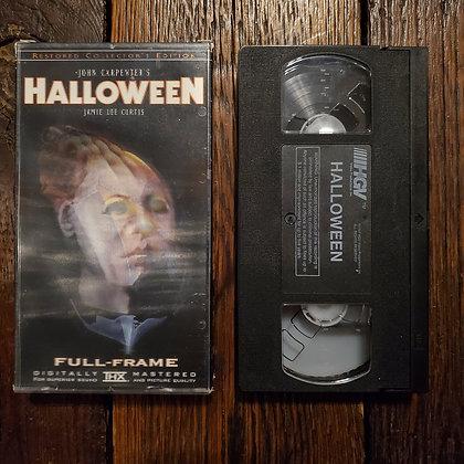 HALLOWEEN thx VHS