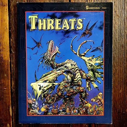 SHADOWRUN : Threats - 1996 RPG Book