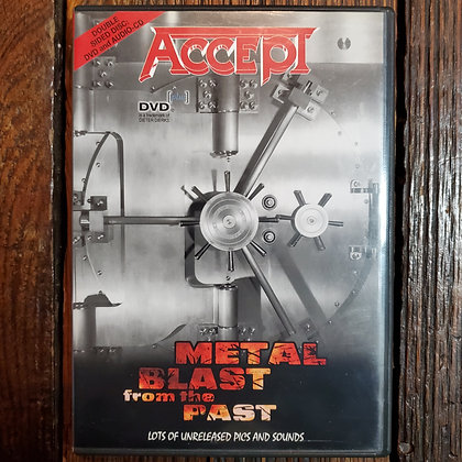 ACCEPT : Metal Blast From the Past - DVD