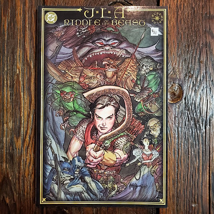JLA : The Riddle of the Beast - Graphic Novel