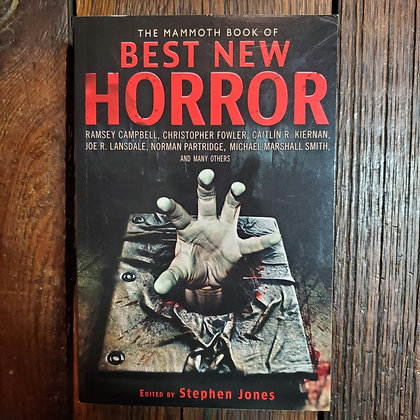 BEST NEW HORROR - 2011 Softcover Book