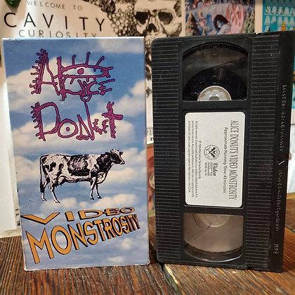 ALICE DONUT'S VIDEO MONSTROSITY - VHS