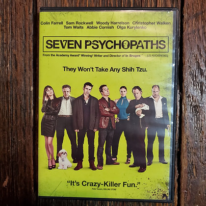 SEVEN PSYCHOPATHS DVD