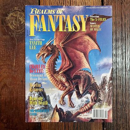 Realms of Fantasy Magazine (Vol.1 - #3 - 1995)