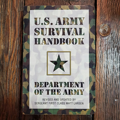 US ARMY SURVIVAL HANDBOOK - Softcover Book