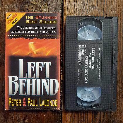 LEFT BEHIND - VHS
