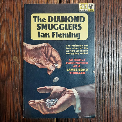 Fleming, Ian : THE DIAMOND SMUGGLERS - Vintage Paperback