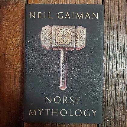Gaiman, Neil : NORSE MYTHOLOGY - Hardcover Book
