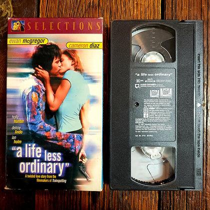 A LIFE LESS ORDINARY - VHS