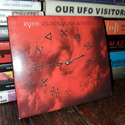RUSH - Clockwork Angels CD