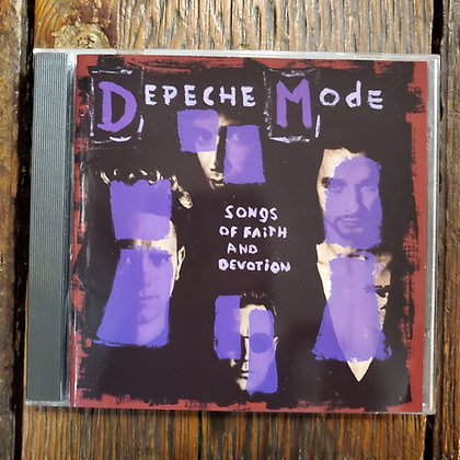 DEPECHE MODE : Songs of Faith and Devotion - CD