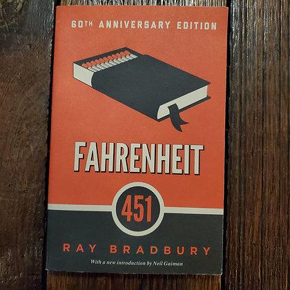 Bradbury, Ray : FAHRENHEIT 451 - Softcover Book