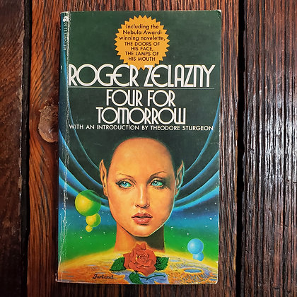 Zelazny, Roger : FOUR FOR TOMORROW - 1967 Paperback