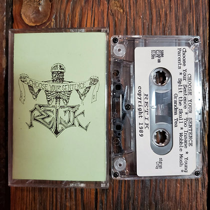 RETIK : Choose Your Sentence - 1989 Cassette Tape