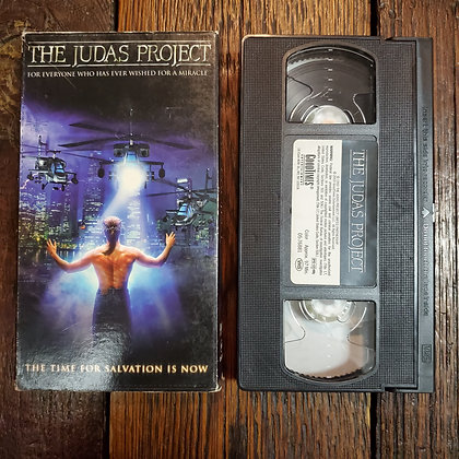 THE JUDAS PROJECT - VHS