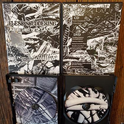 FLESH SHUDDERING : Auditory Tetanus - 2020 DVD + CD Set