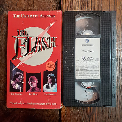 THE FLASH - VHS