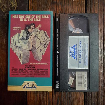 KILL AND KILL AGAIN - VHS