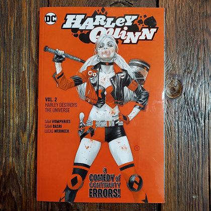 HARLEY QUINN Destroys the Universe - Graphic Novel