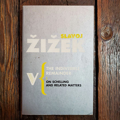Žižek, Slavoj : THE INDIVISIBLE REMAINDER - Softcover Book