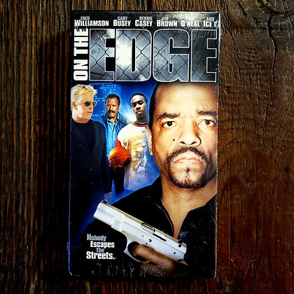ON THE EDGE - Sealed VHS (Ice T. Ron O'Neal. Busey.)