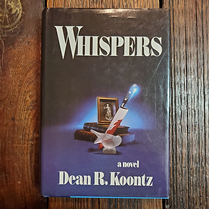 Koontz, Dean R. - WHISPERS (1980 Hardcover / 1st Edition)