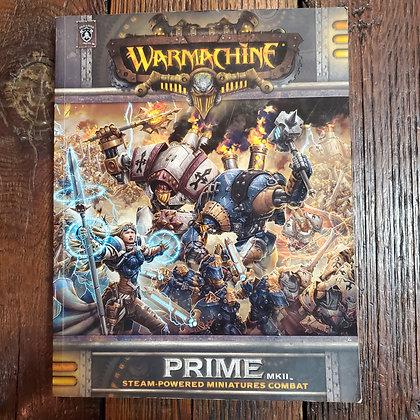 WARMACHINE Prime MKII Softcover Book