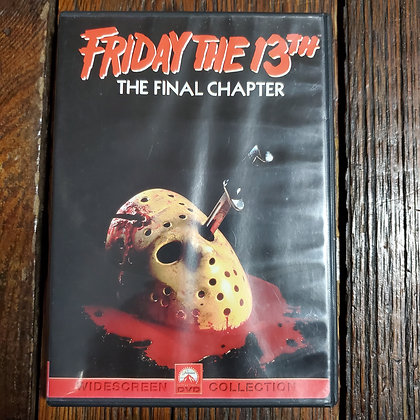 FRIDAY THE 13th THE FINAL CHAPTER - DVD
