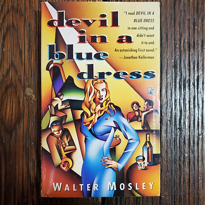 Mosley, Walter : DEVIL IN A BLUE DRESS - Paperback Book