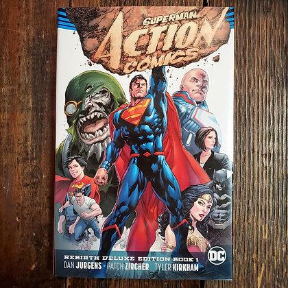 SUPERMAN ACTION COMICS Rebirth Deluxe Edition #1 HARDCOVER
