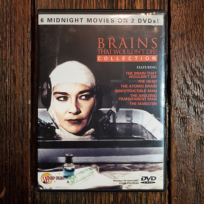 BRAINS THAT WOULDN'T DIE Collection 2 DVD