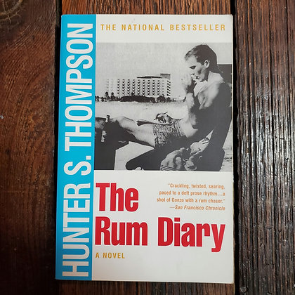 Thompson, Hunter S : THE RUM DIARY - Softcover Book