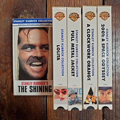 5 x STANLEY KUBRICK COLLECTION - VHS