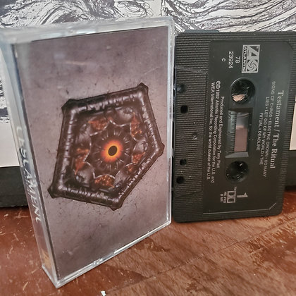 TESTAMENT The Ritual TAPE