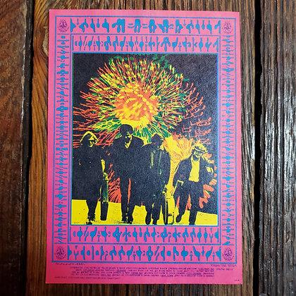 Rare 1967 Miller Blues Band Vintage Postcard
