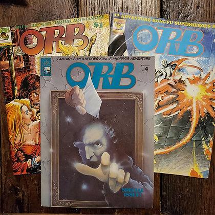 ORB 3 Pack 1975/76 Vintage Magazines (#4,5,6)